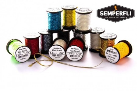 Semperfli flatbraid